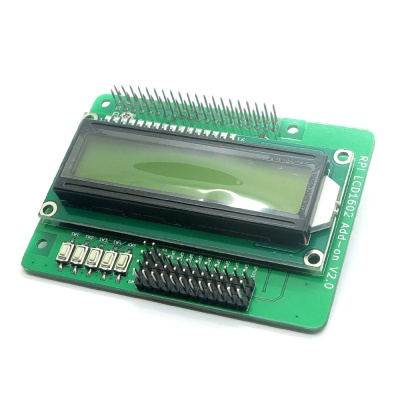 RPI LCD1602 ADD-ON V2.0