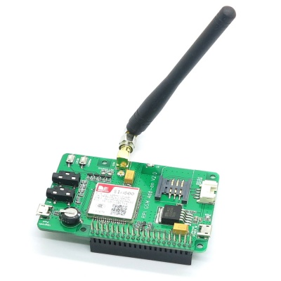 Rasspberry Pi SIM800 GSM/GPRS Add-on V2.0