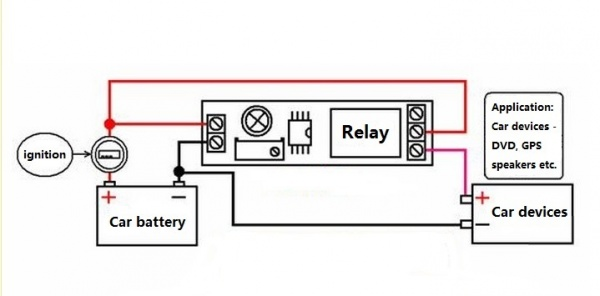 timer adjustable 12v delay realy module